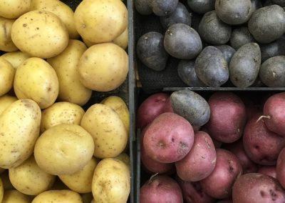 patates et pommes de terre