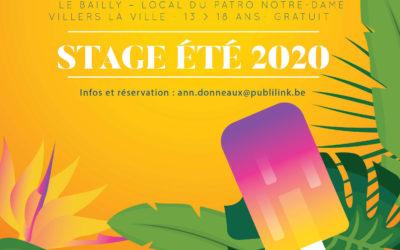 Stage Jeunesse à Villers