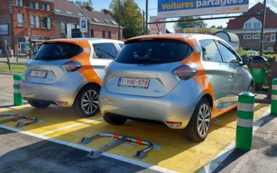 Voitures électriques partagées à Genappe