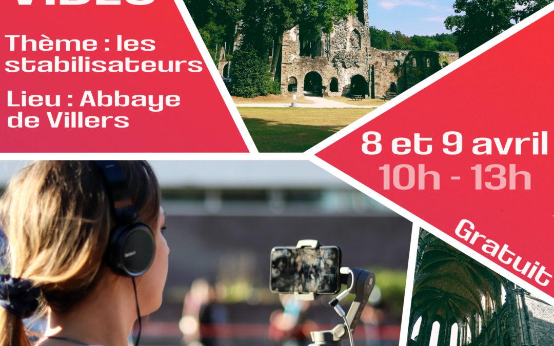 Atelier Vidéo à l'abbaye de Villers